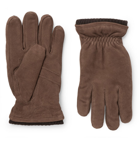 Hestra - Nathan Suede Gloves - Brown