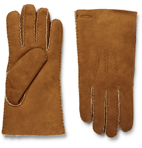 Hestra - Shearling Gloves - Tan