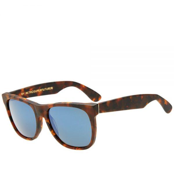 Mens SUPER by RETROSUPERFUTURE Classic Sunglasses in Brown Team