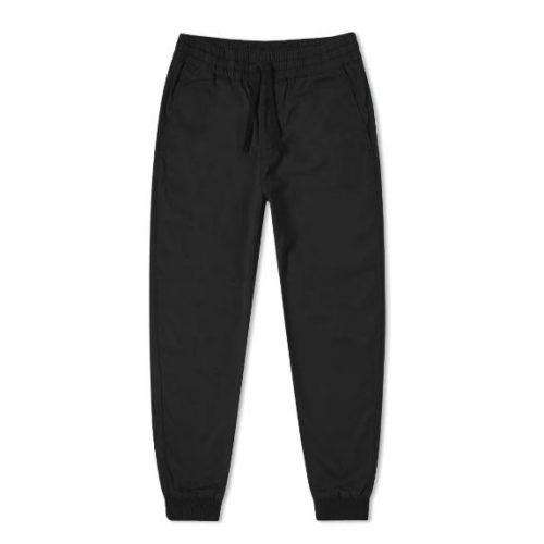 Mens Carhartt Madison Jogger Pants in Black