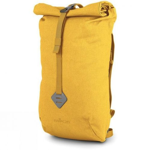 Mens Millican Smith The Roll Pack 15L Backpack in Yellow