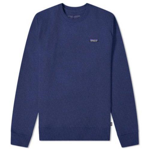 Patagonia P-6 Label Uprisal Crew Sweatshirt Navy
