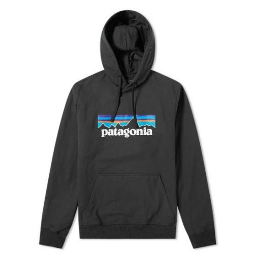 Patagonia P-6 Label Uprisal Hoody Black