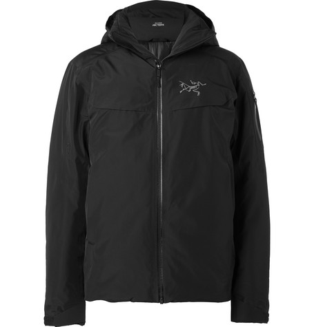 Arc'teryx - Macai Gore-tex Hooded Down Jacket - Black
