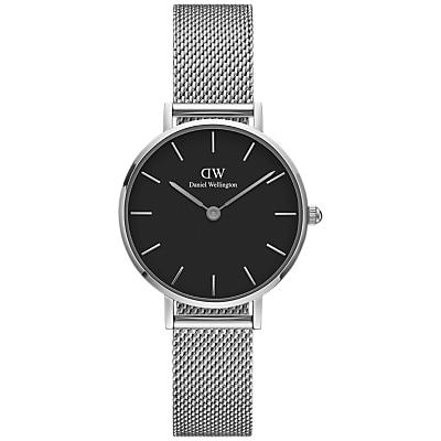 Daniel Wellington Unisex Mesh Bracelet Strap Watch