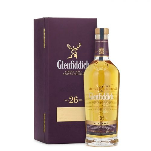 Glenfiddich 26 Year Old Excellence Single Malt Scotch Whisky