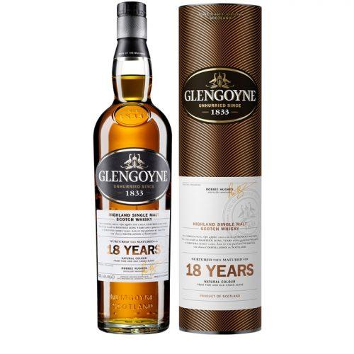 Glengoyne Single Malt Whisky 18 Year Old Single Malt Scotch Whisky