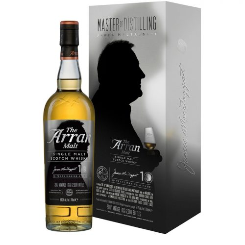 Isle Of Arran Distillers James MacTaggart 2007 Single Malt Scotch Whisky