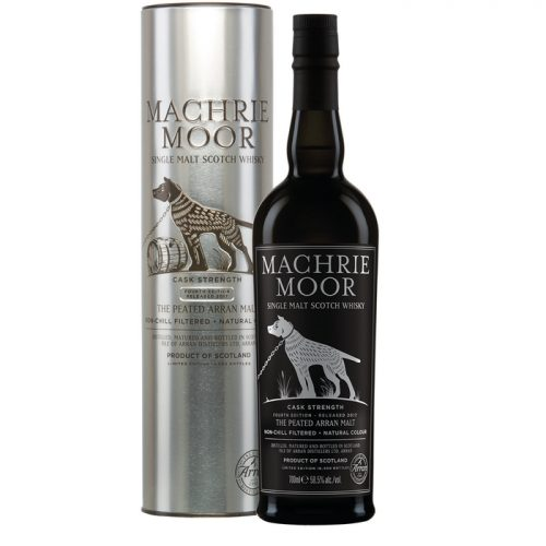 Isle Of Arran Distillers Machrie Moor Cask Strength Single Malt Scotch Whisky - Batch 4