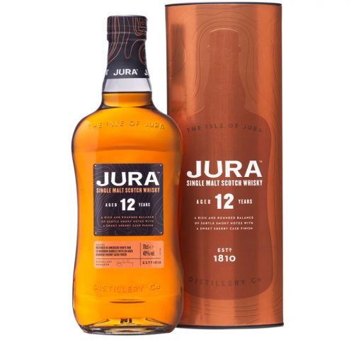Isle Of Jura 12 Year Old Single Malt Scotch Whisky