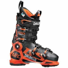 Dalbello DS 120 Ski Boots mens black orange
