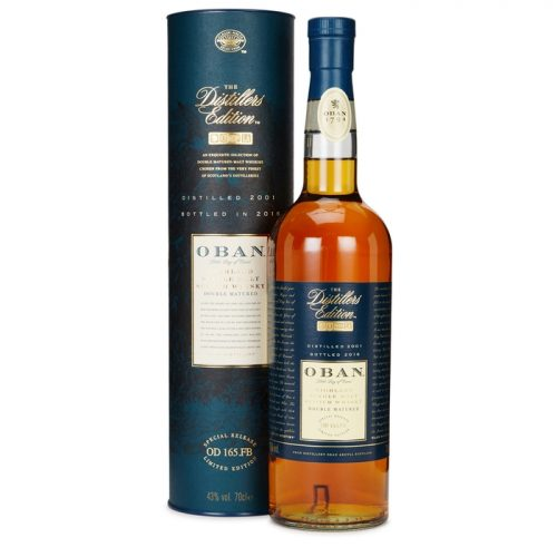 Oban Distiller's Edition 2001 Single Malt Scotch Whisky