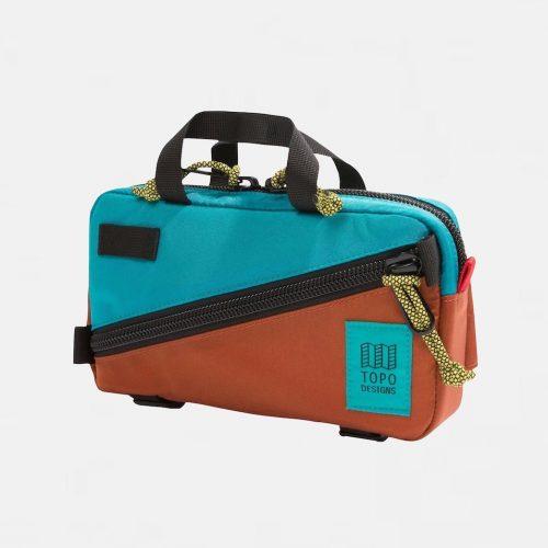Topo Designs Mini Quick Pack Bag Turquoise/Clay