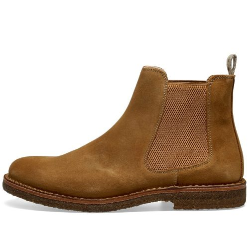 Mens Astorflex Bitflex Chelsea Boot Brown Suede