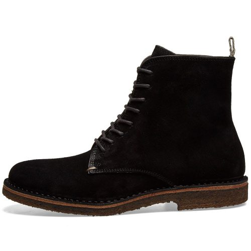 Mens Astorflex Bootflex Boot in Black Suede