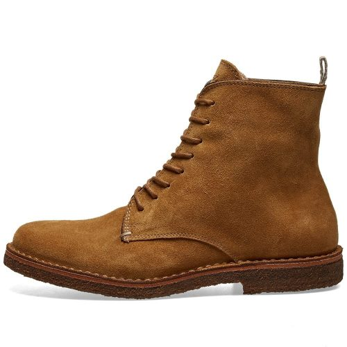 Mens Astorflex Bootflex Boot in Whiskey Brown Suede
