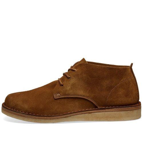 Mens Astorflex Ettoflex Wedge Sole Boot in Brown