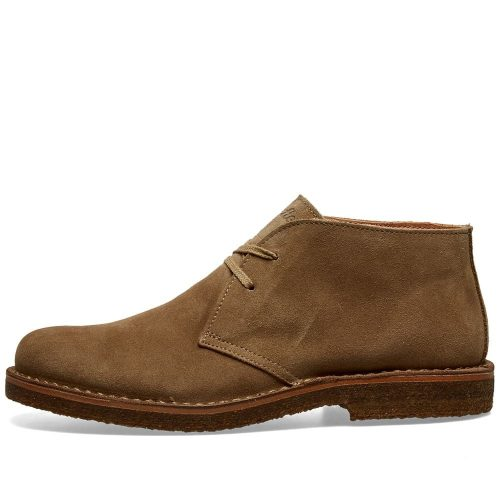 Mens Astorflex Greenflex Boot in Neutral Stone Suede