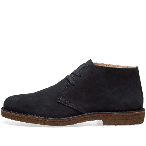 Mens Astorflex Greenflex Boot in Navy Suede.
