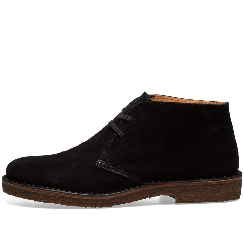 Mens Astorflex Greenflex Boot in Black Suede