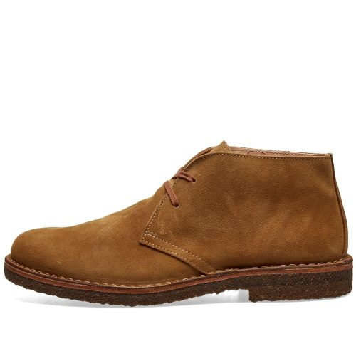 Mens Astorflex Greenflex Boot in Whiskey Brown Suede