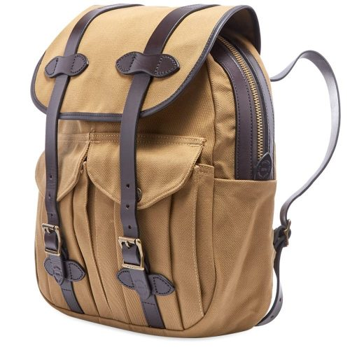 Mens Filson Rucksack in Tan Brown