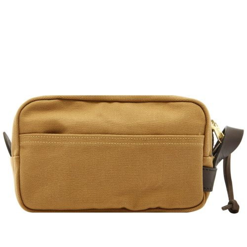 Mens Filson Travel Kit Bag in Tan