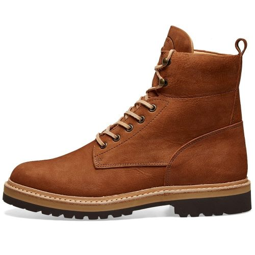 Mens Fracap Light Rock Sole Guardolo Explorer Boot in Brown