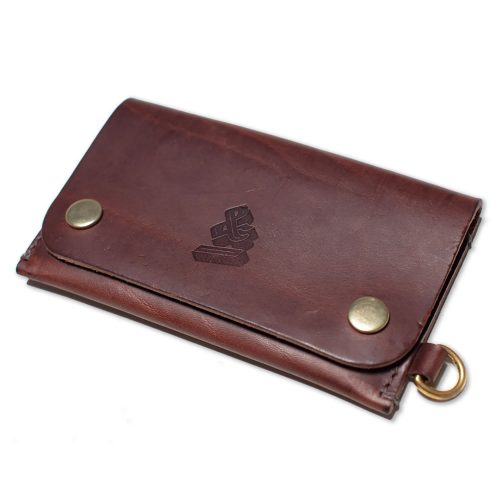 Mens &SONS Leather Wallet in Brown