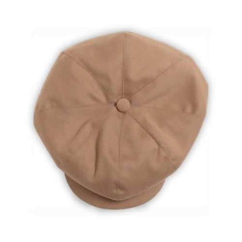 Mens &SONS Jackson Traditional Baker Boy Hat in Tanditional Baker Boy Hat