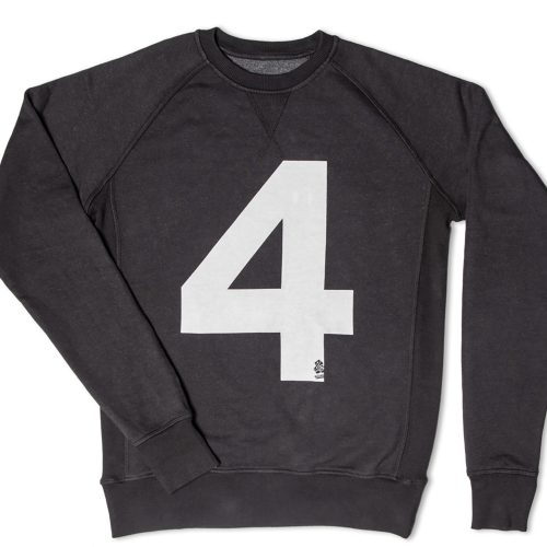 Mens &SONS No.4 American Sweatshirt in Black