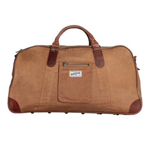 Mens &SONS The Getaway Bag in Ochre Tan AndSons