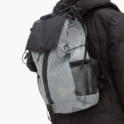 And Wander X Pac 30l Backpack Mens grey