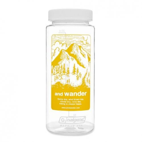 And Wander x Nalgene Bottle Yellow