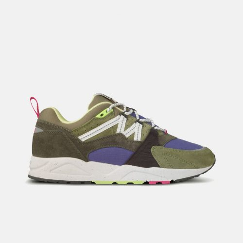 Mens Karhu Fusion 2.0 Sneakers in Forest Night / Whiteight/Bright White