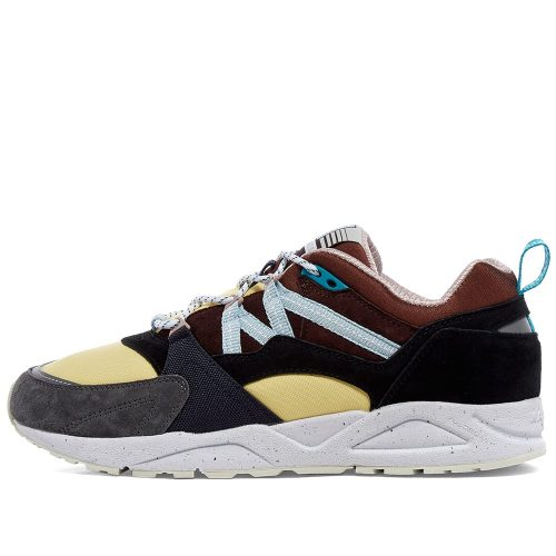 Mens Karhu Fusion 2.0 KITEE Sneakers in Brown & Yellow