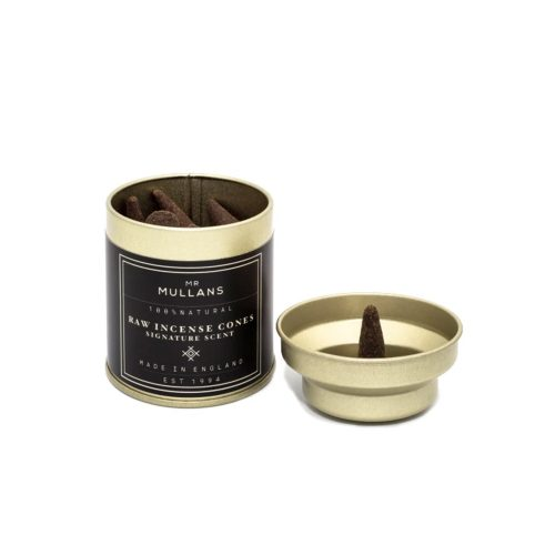 Mens Mr Mullans Apothecary Raw Incense Cones in Signature Scent