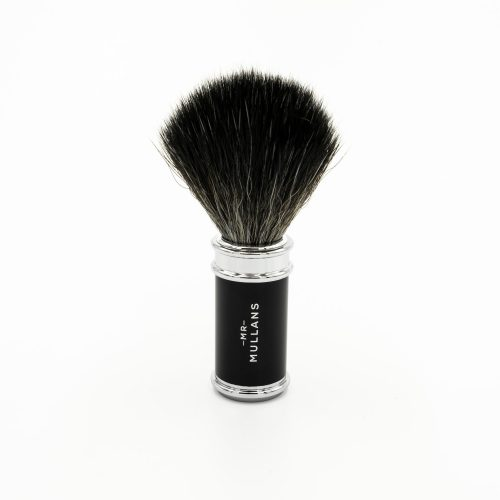 Mens Mr Mullans Apothecary Shaving Brush in Black