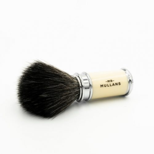 Mens Mr Mullans Apothecary Shaving Brush in Ivory
