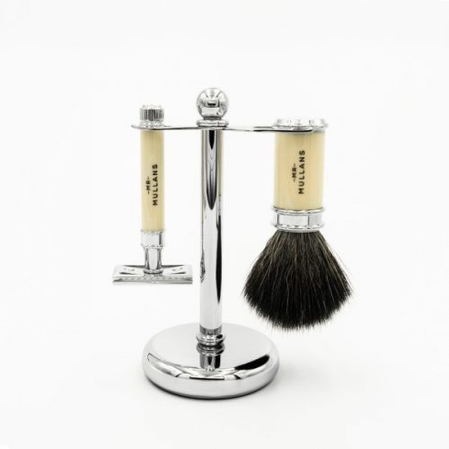 Mens Mr Mullans Apothecary Shaving Set in Ivory