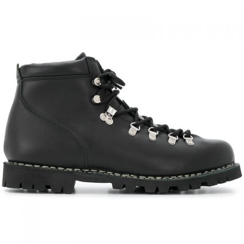 Mens Paraboot Lace-Up Hiking Boots in Black