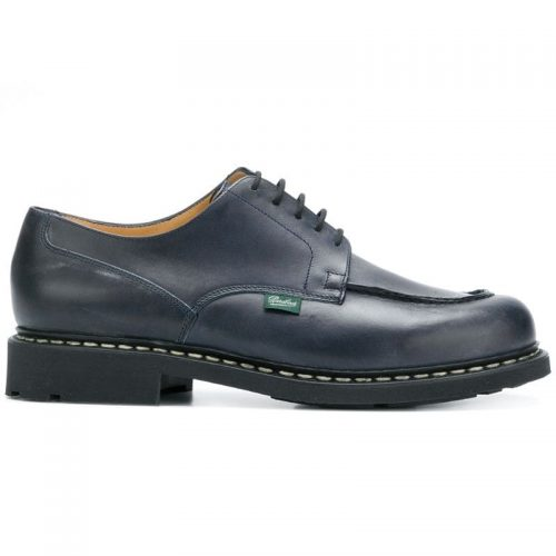 Mens Paraboot Lace-Up Shoes in Dark Blue