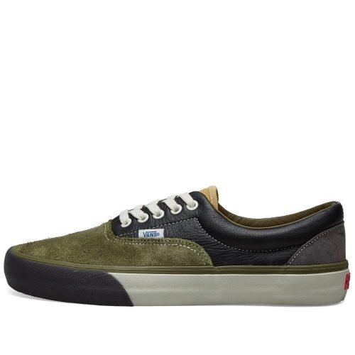 Mens Vans Vault Era VLT LX Sneakers in Green