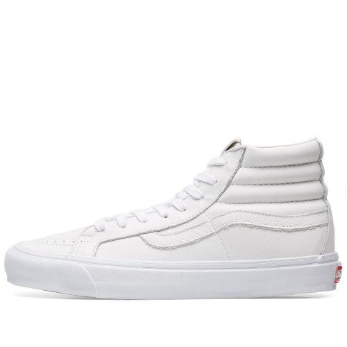 Mens Vans Vault OG SK8-Hi LX Sneakers in White