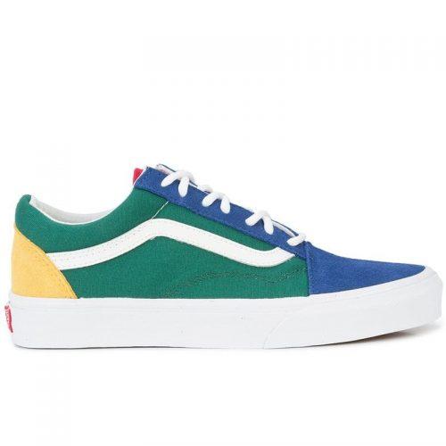 Mens Vans Vault UA OG Old-Skool LX Sneakers in Blue