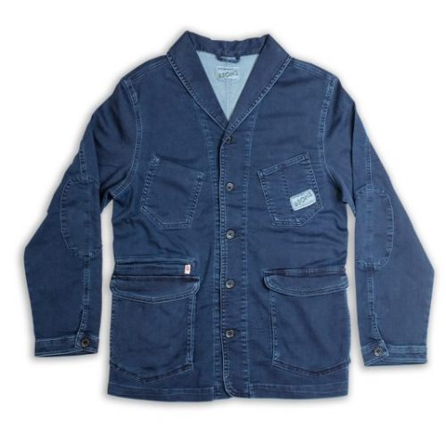 Mens &SONS Crafter Ii Chore Jacket in Indigo Wash