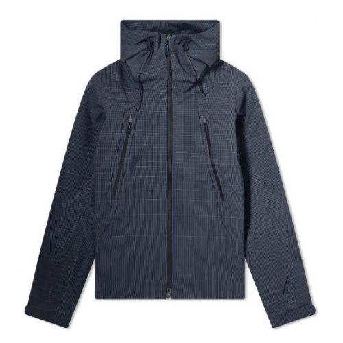 Mens Descente Allterrain Schematech Active Shell Jacket in Navy