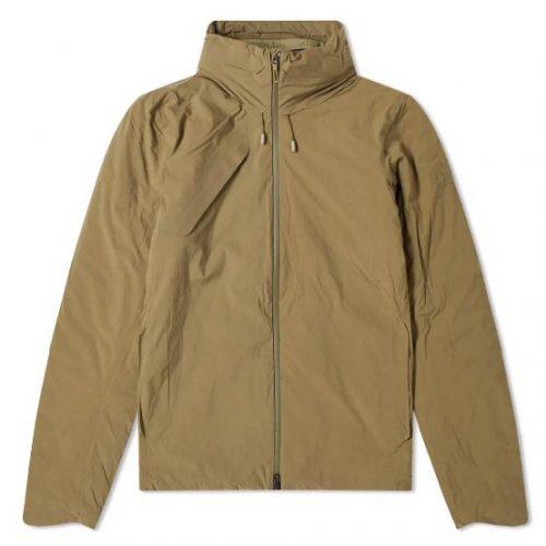 Mens Descente Allterrain Titanium Thermo Insulated Jacket in Olive