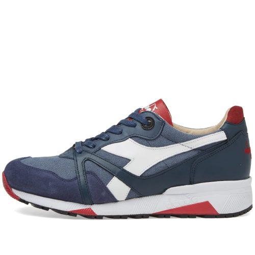 Mens Diadora N9000 H C SW Sneakers in Indigo Blue