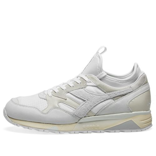 Mens Diadora x Paura N9002 Sock Sneakers in White